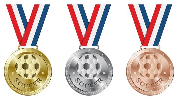 Medalhas de futebol