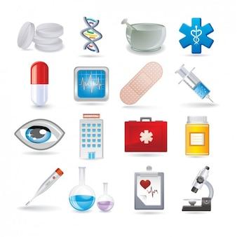 Medical coleção ícone