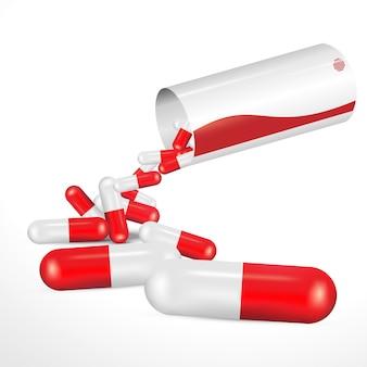 Medicamento vermelho