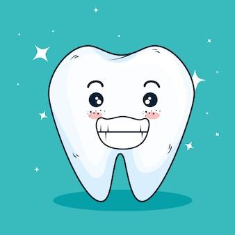 Medicina dentária limpa e cuidados dentários
