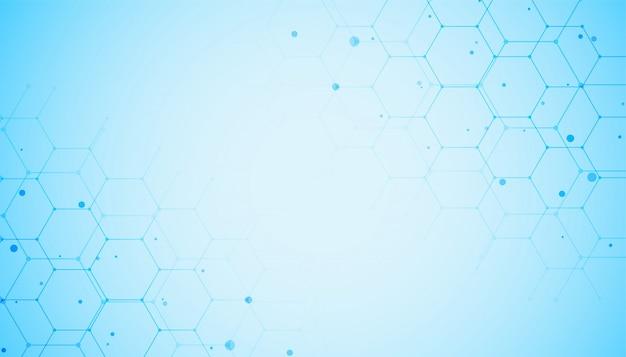 Medicina e saúde na cor azul