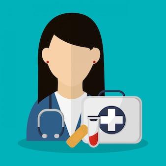Medicina relacionados com ícones