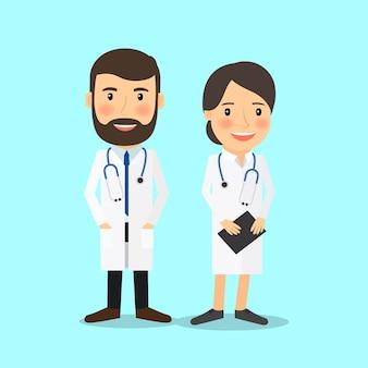Médico, caráteres
