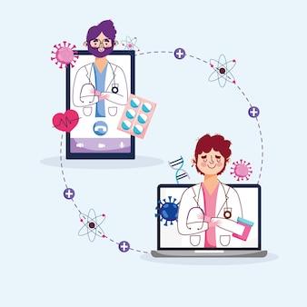 Médico de saúde online