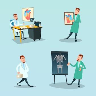 Médico médico cirurgião e cardiologia medicina