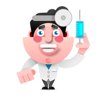 Médico médico de vetor ícone