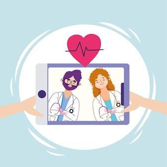 Médicos de saúde online