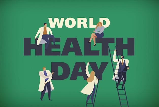 Médicos do dia mundial da saúde