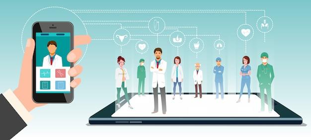 Médicos on-line
