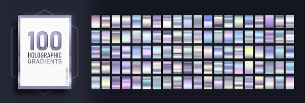 Mega conjunto de gradientes da moda