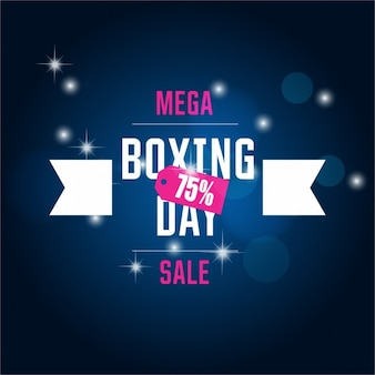 Mega da venda modelo de boxing day