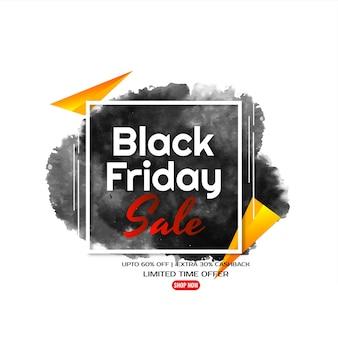 Mega venda black friday oferece plano de fundo de promoção