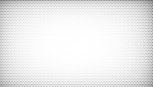 Meio-tom abstrato com estilo de efeito de vinheta