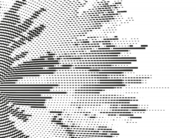 Meio-tom abstrato pontilhada de fundo.