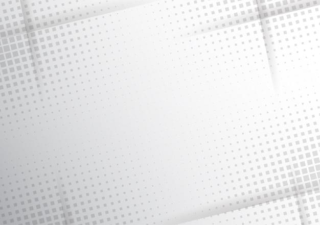 Meio-tom moderno branco e cinza