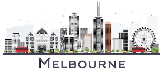 Melbourne austrália city skyline