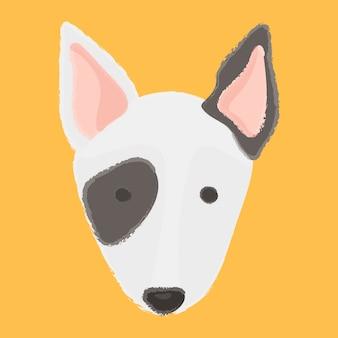 Melhor amigo cachorros bull terrier empresa raça companheiro