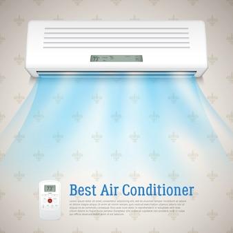 Melhor ar condicionado ilustração