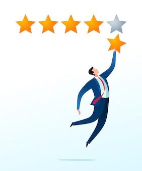 Melhor classificação e avaliação