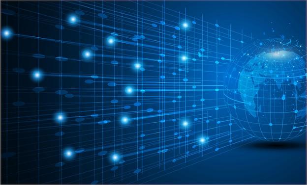 Melhor conceito de internet do negócio global de uma série de conceitos.