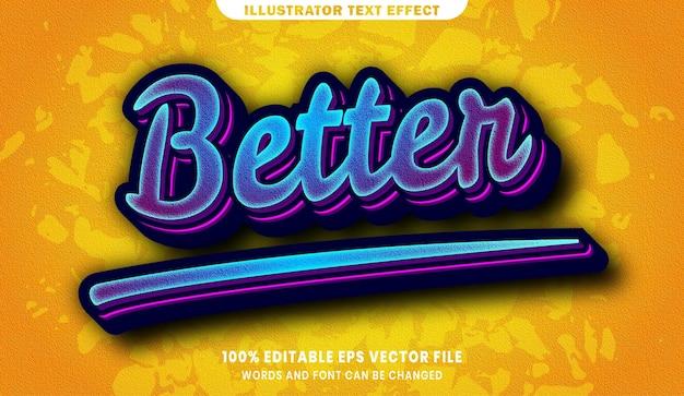Melhor efeito de estilo de texto editável em 3d