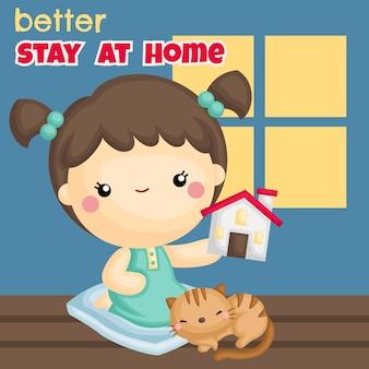Melhor ficar em casa