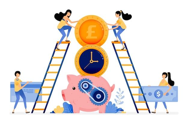 Melhor hora para economizar e investir