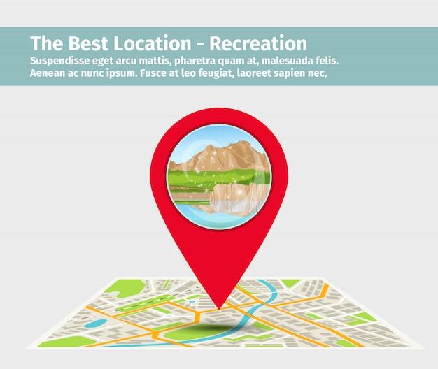 Melhor local para recreação