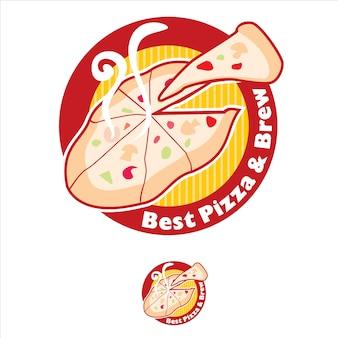 Melhor logotipo da pizza