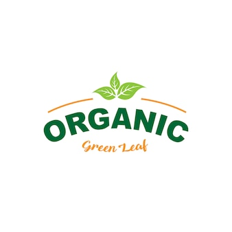 Melhor logotipo de comida saudável de qualidade