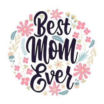 Melhor mãe sempre letras de cartão