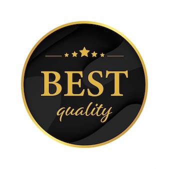 Melhor marca de banner de etiqueta de qualidade garantida banner.