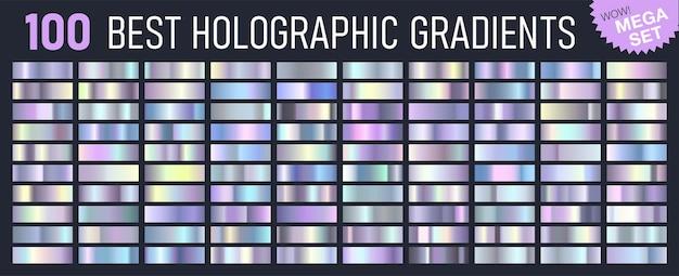 Melhor mega conjunto de gradientes da moda