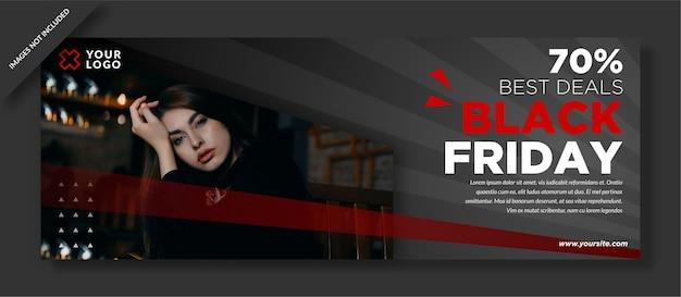 Melhor oferta black friday template