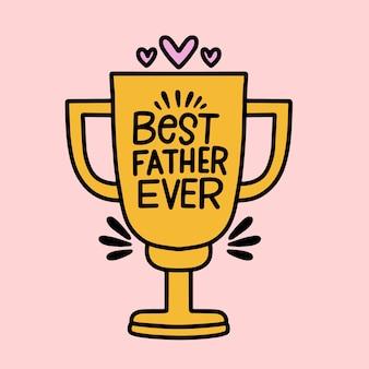 Melhor troféu de todos os tempos