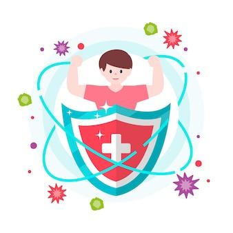 Melhore o seu sistema imunológico com escudo