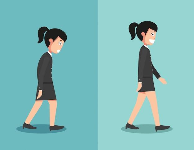 Melhores e piores posições para andar