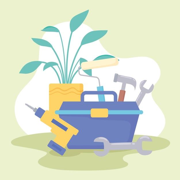 Melhoria da casa da caixa de ferramentas