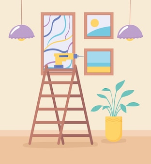 Melhoria e reforma da casa
