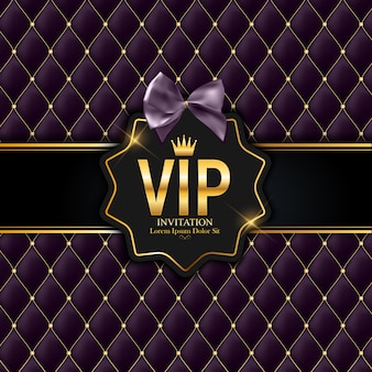 Membros de luxo, cartão de presente vip convite