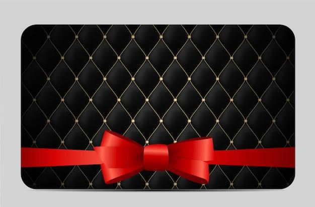 Membros de luxo, fundo de cartão de presente