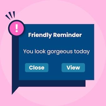 Meme de lembrete de telefone