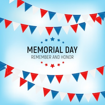 Memorial day, lembre-se e honrar