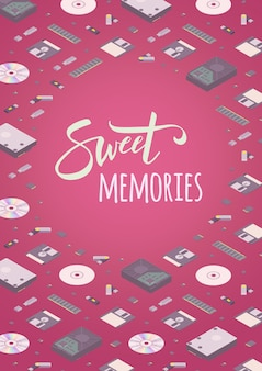 Memórias doces decoração