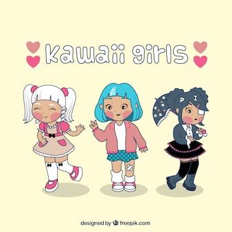 Meninas de kawaii