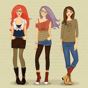 Meninas modernas