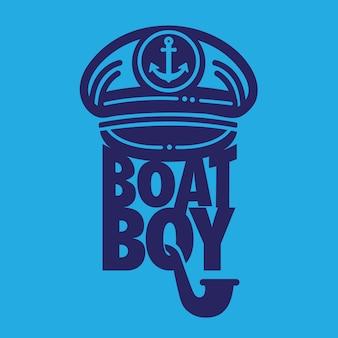 Menino barco