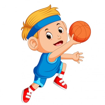 Meninos jogando basquete esporte