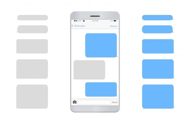 Mensagem de texto do telefone móvel