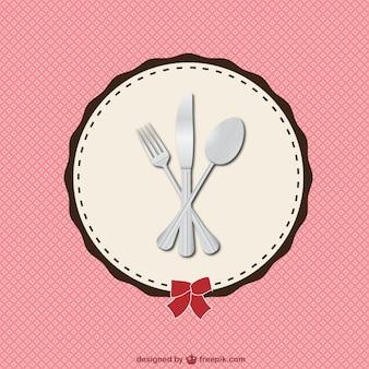 Menu de restaurante retro ilustração